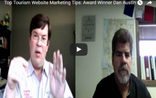 Travel trade show marketing tips with Tourism Tim and Dan Austin, Austin's Adventures