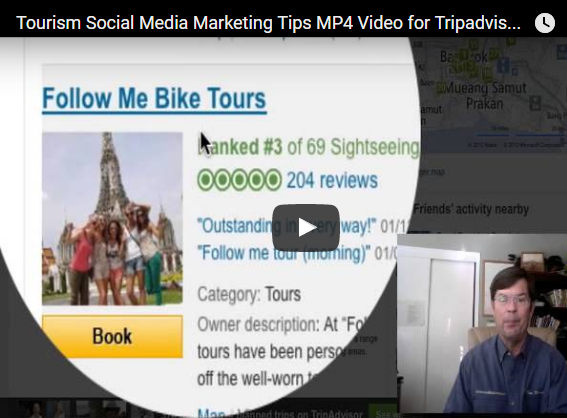 Tripadvisor Tourism Marketing Training Video with Tourism Tim