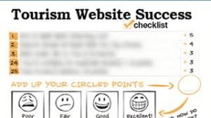 tourism freemium 25 point website success checklist