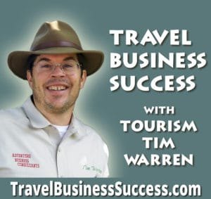 travel entrepreneurship with Tourism Tim Warrren